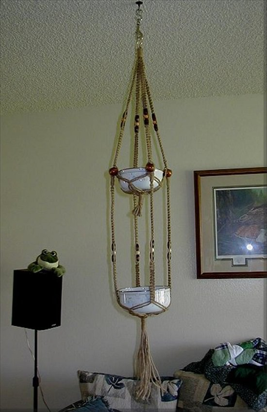 picture regarding Free Printable Macrame Plant Hanger Patterns named 23 Optimum Extraordinary Macrame Plant Hangers Do it yourself Suggestions Balcony