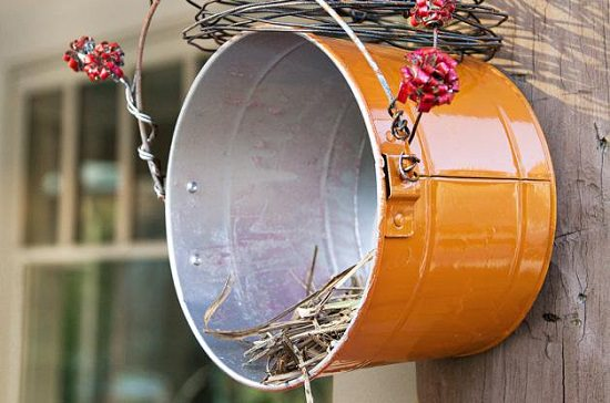 Nesting Shelf DIY Birdhouse