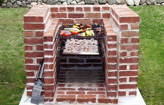 Build This Simple Barbecue Pit It S A Relatively Easy Job And Likely To Cost Less Than Fancy New Gas Grill With The Right Tools Materials