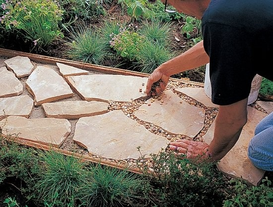 DIY Garden Walkway Ideas 6