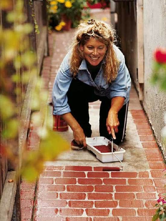 DIY Garden Walkway Ideas 7