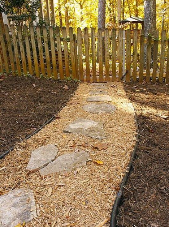 DIY Garden Walkway Ideas 8