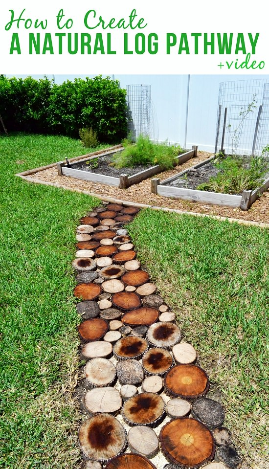 DIY Garden Walkway Ideas 10