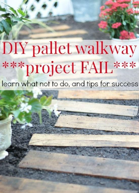 DIY Garden Walkway Ideas 11