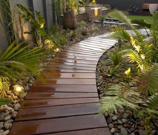 DIY Garden Walkway Ideas 16