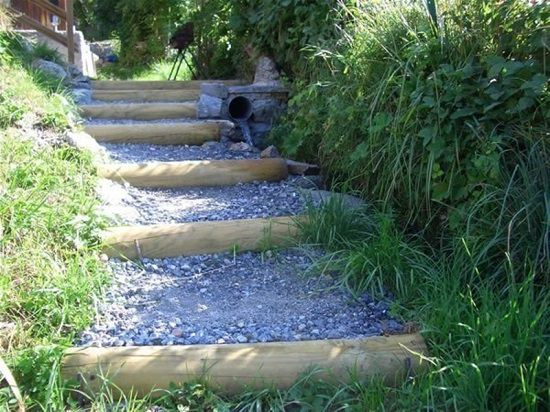 DIY Garden Walkway Ideas 4