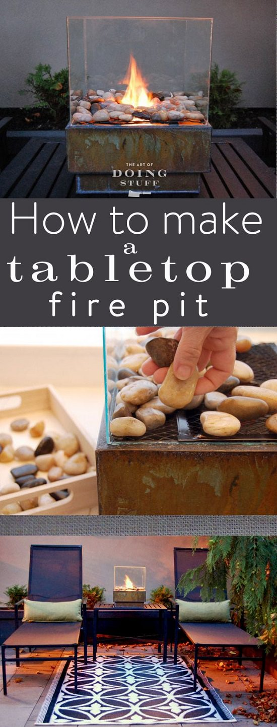 You Can Create Your Own Nice Little Fire Pits That Are Warm Portable And Suitable For Urban Dwellers Following These 21 Diy Tabletop Bowl Ideas
