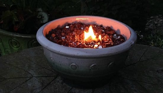 Tabletop Firepit Bowl