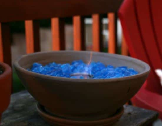 DIY Tabletop Fire Bowl
