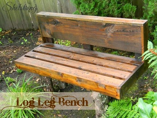 Simple Outdoor Wooden Bench Plans