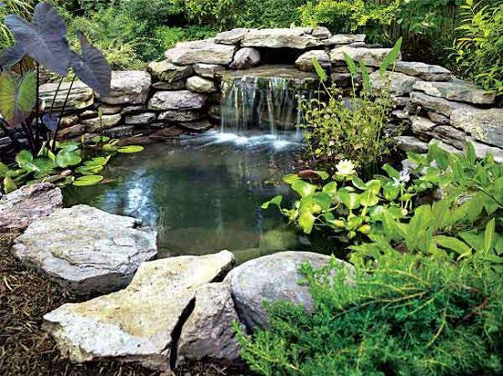DIY Backyard Pond - 21 DIY Water Pond Ideas DIY Water Gardens For Backyards Balcony