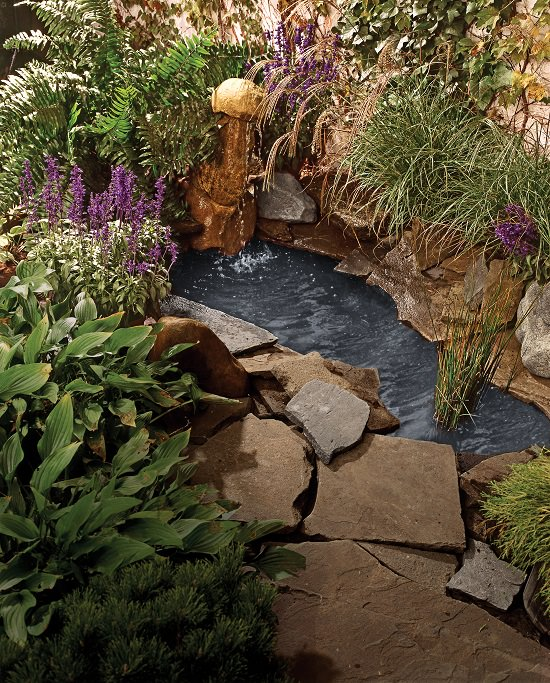 DIY Water Pond Ideas for garden