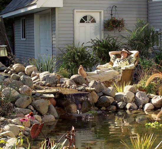 DIY Water Pond Idea