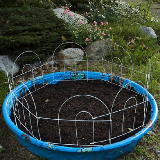 DIY Kiddie Pool Planter