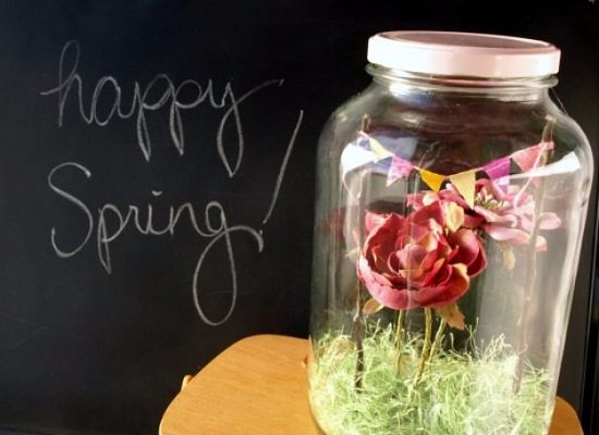 DIY Spring Terrarium Ideas