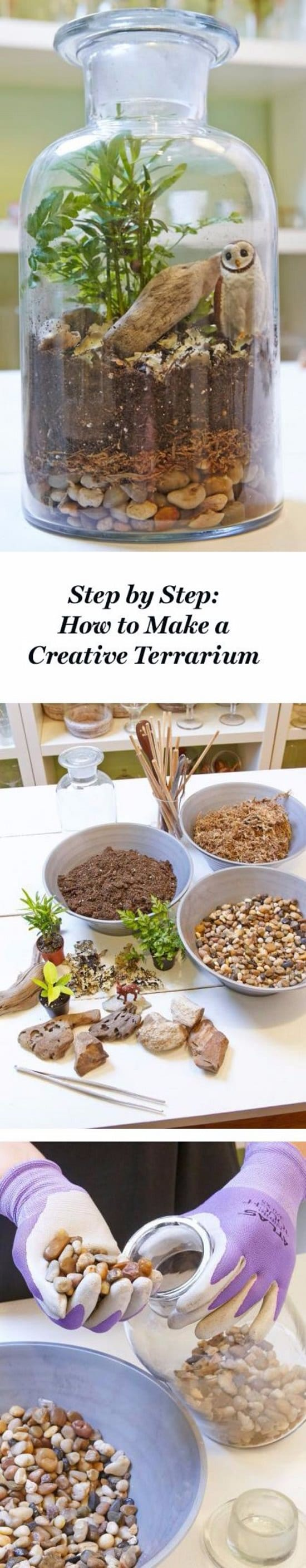 Creative DIY Terrarium Ideas