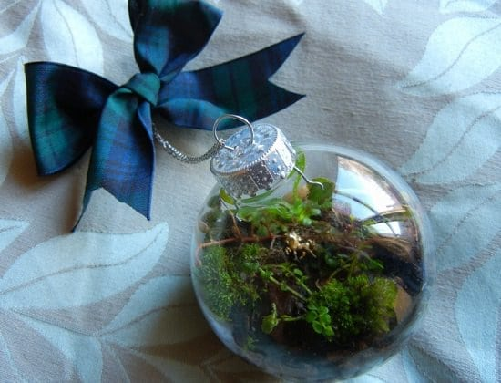 DIY Terrarium Christmas Tree Ornament