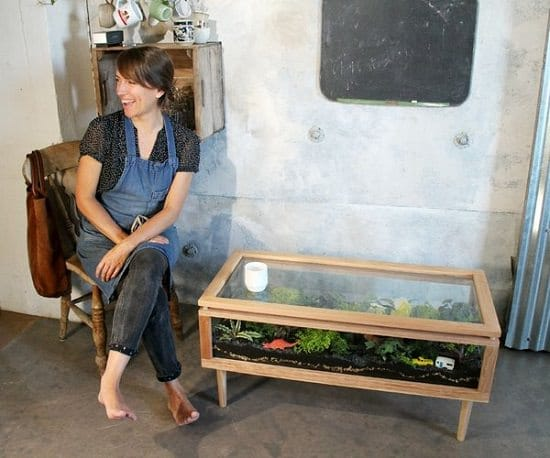 DIY Terrarium Table ideas