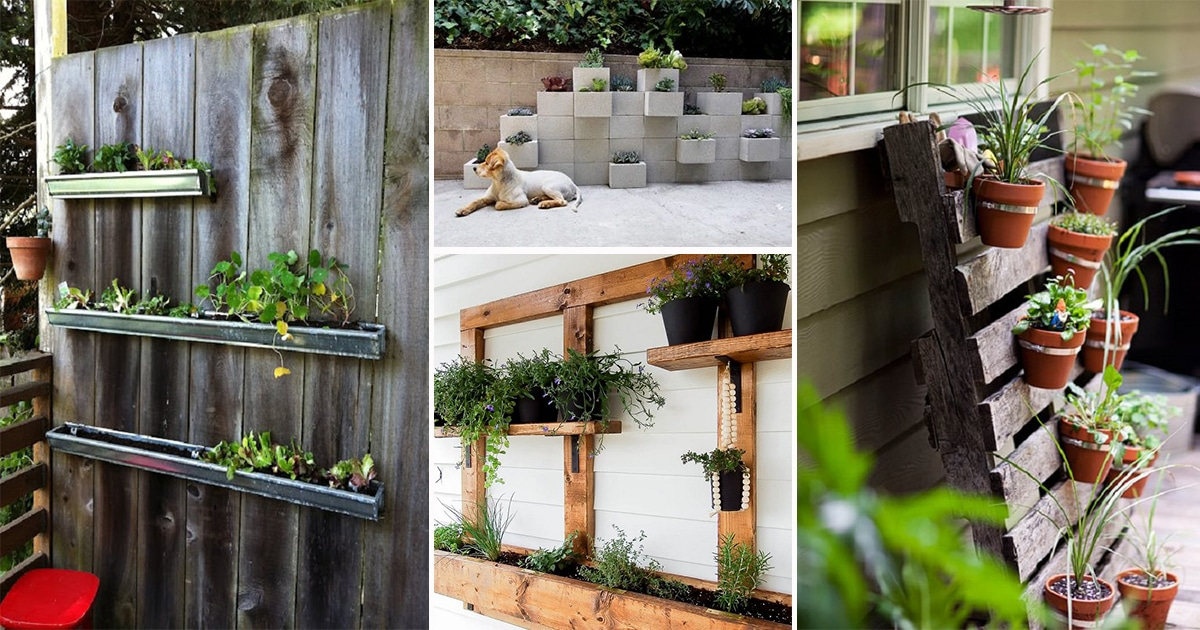 28 Greatest Vertical Gardening Ideas For Small Space Urban ...