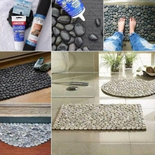 DIY Rock Uses for Homes 3