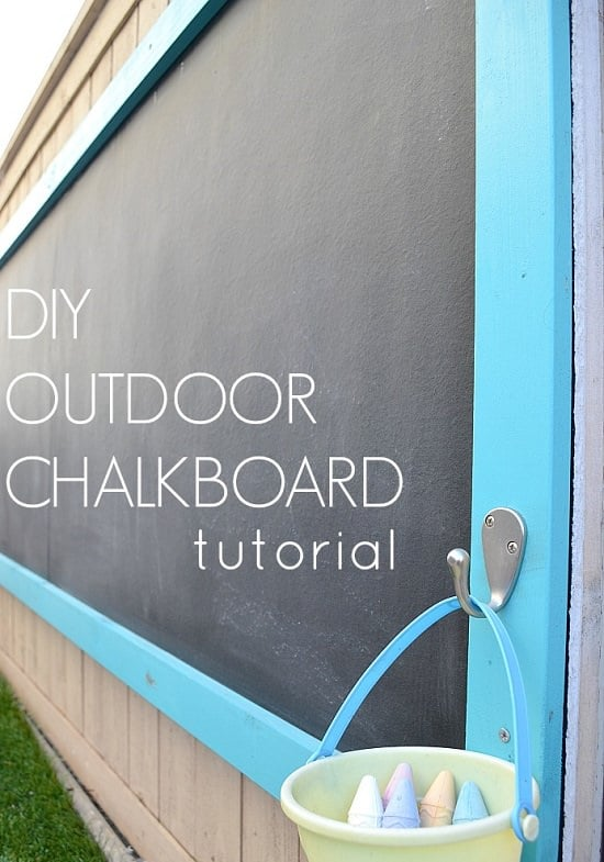 10 Simple Diy Chalkboard Paint Projects For The Gardeners Balcony