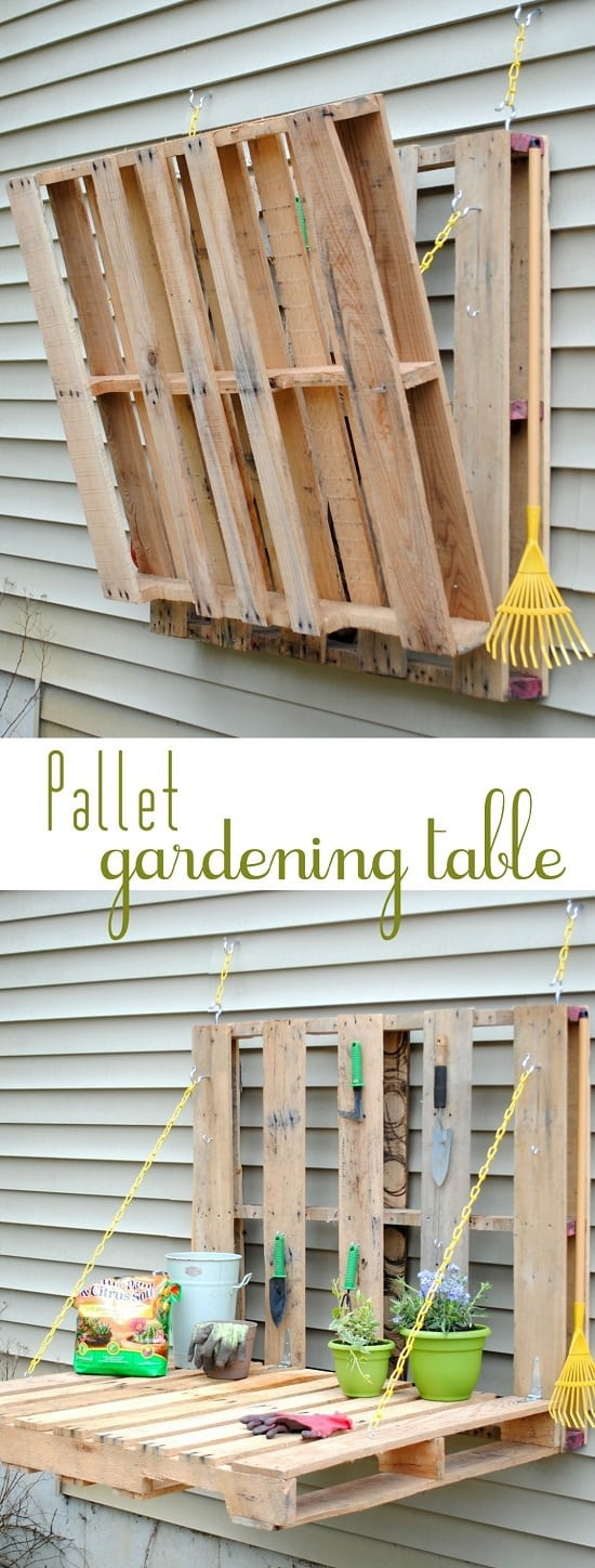 8 Diy Pallet Tool Organizer Projects For The Garden