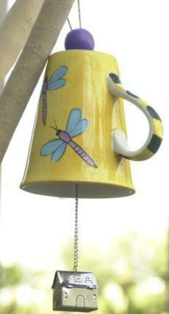 Tea Mug Wind Chime