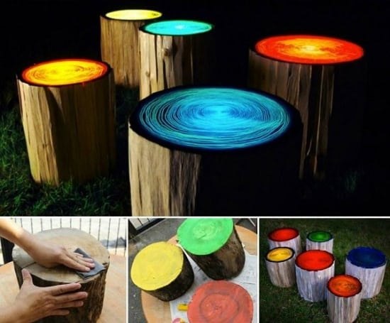 16 Magical Diy Glow In The Dark Ideas For The Garden