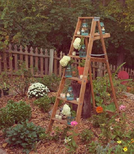 Ladder Planter idea diy