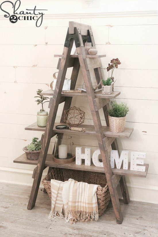 Ladder Plant Stand Ideas
