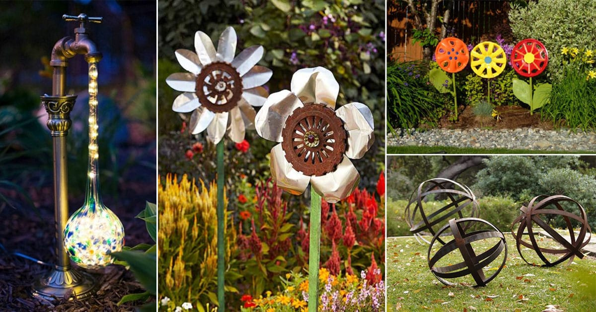 31 Diy Garden Ornaments Projects To Beautify Your Garden | Balcony Garden Web - Diy Garden