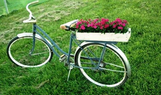 DIY Bicycle Planter