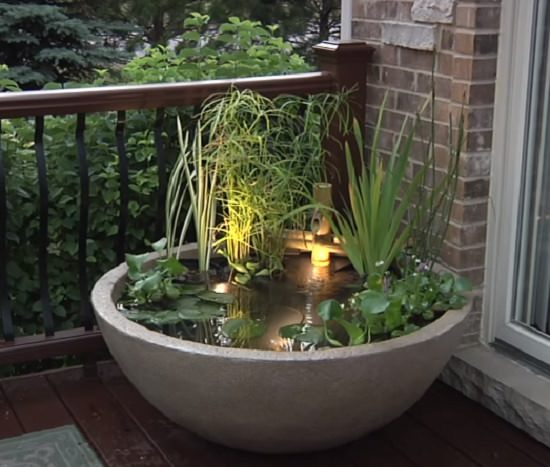 DIY Water Feature+Pond