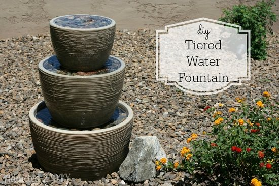Inexpensive Tiered Water Fountain
