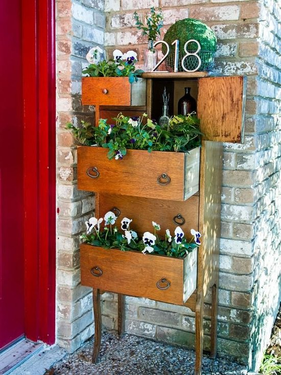 Chest of Drawers- furniture planter