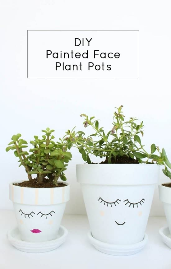 26 Diy Pot Painting Ideas For The Garden Balcony Garden Web