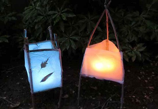Nature Inspired Lanterns