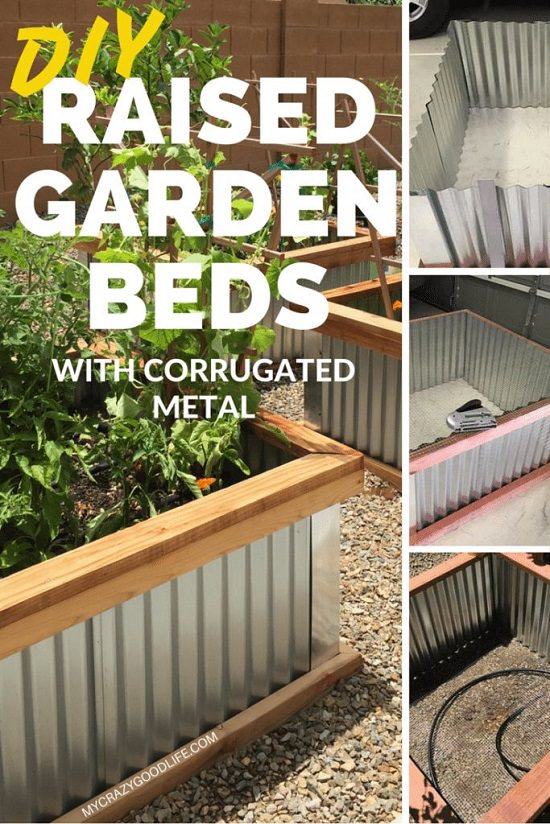 12 Diy Galvanized Metal Planters With Tutorials Balcony