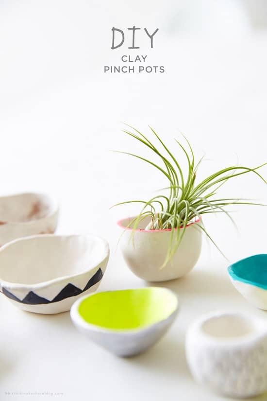 Overly Cute DIY Mini Planters for Succulents
