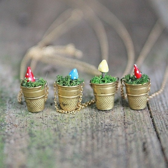 Overly Cute DIY Mini Planters for Succulents that you can make right now
