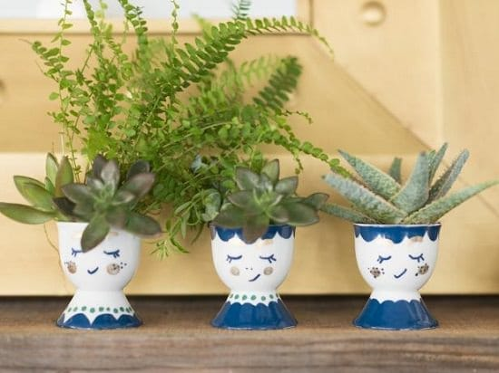 top Overly Cute DIY Mini Planters for Succulents ideas