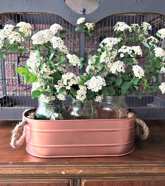 DIY Copper Planter