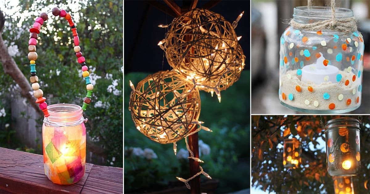 32 Diy Garden Lantern Ideas To Add Life To Your Outdoor