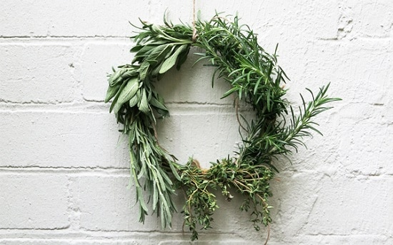 Herb Sprig Wreath