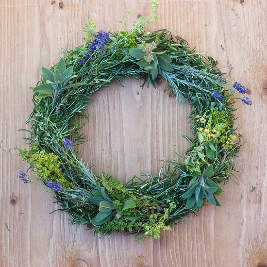 Gorgeous Culinary Herb Wreath