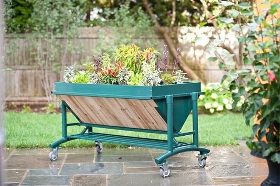 Mobile Elevated Garden Bed