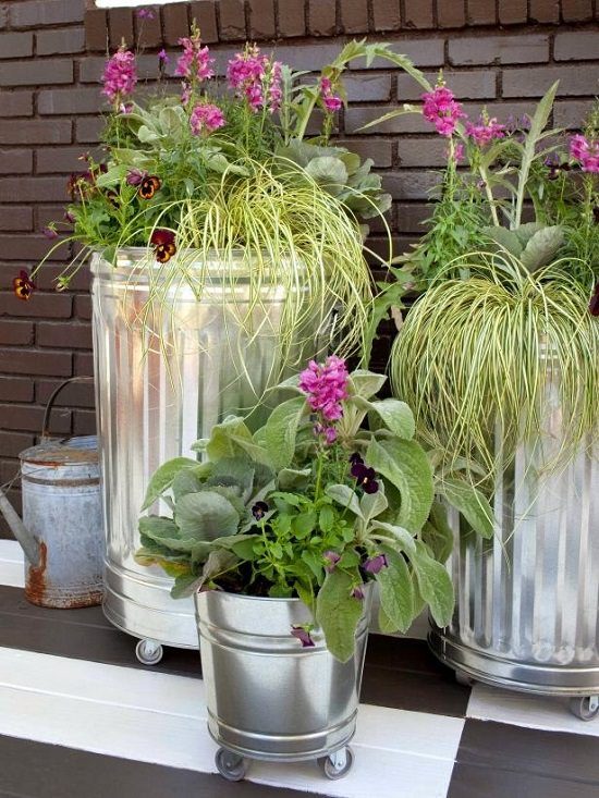 Mobile Container Garden DIY