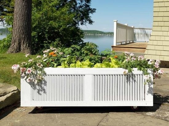 Build A Raised Garden Bed That Moves