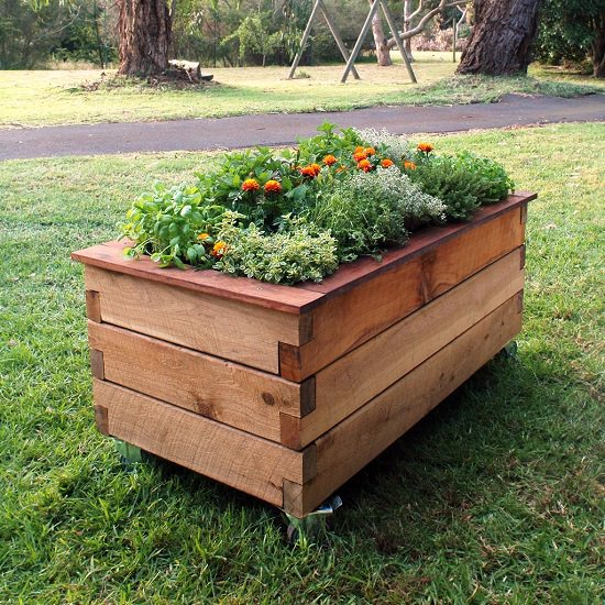 Moveable Planter For Anywhere
