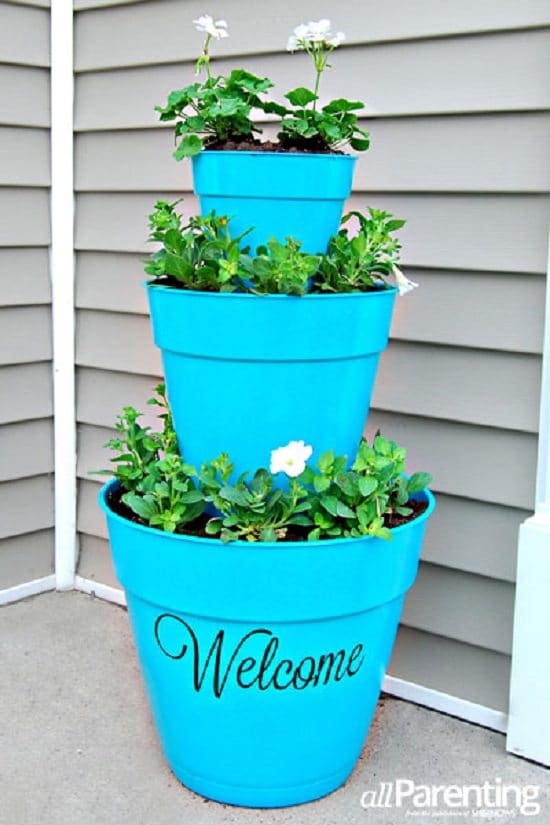 Porch Planter DIY